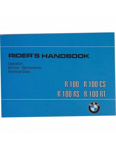 mode d'emploi R80/7 R100T R100RT...