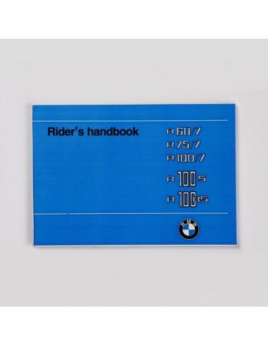 mode d'emploi BMW R 60/7, R 75/7 -...