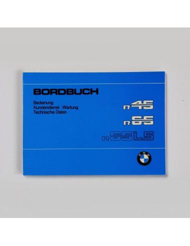 mode d'emploi BMW R 45 et R 65...