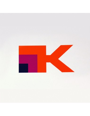 "autocollant Krauser ""K"" logo 13 x 7cm"
