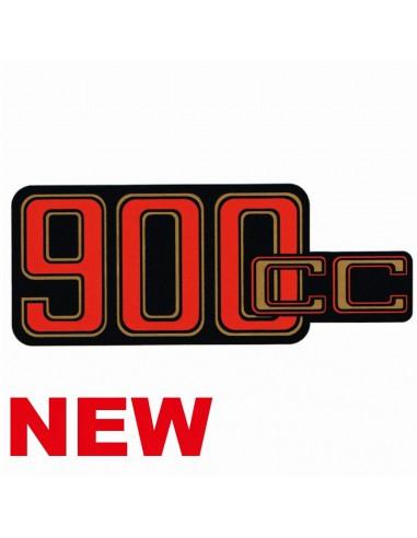 autocollant pour cache batterie 900CC...