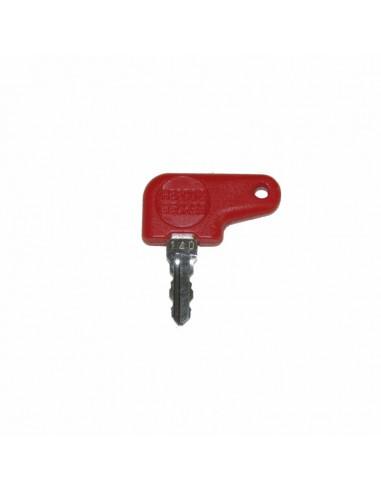 clef de rechange rouge pour valise...