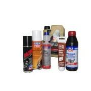Lubrifiants, produits d'entretien, outillage